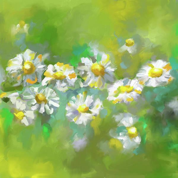 Wall Art - Painting - Painting 638 1 Texas Wildflowers 1 by Mawra Tahreem