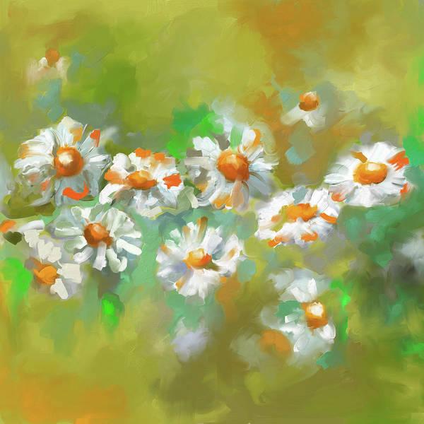 Wall Art - Painting - Painting 638 2 Texas Wildflowers 1 by Mawra Tahreem