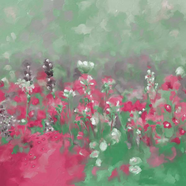 Wall Art - Painting - Painting 640 2 Texas Wildflowers 3 by Mawra Tahreem