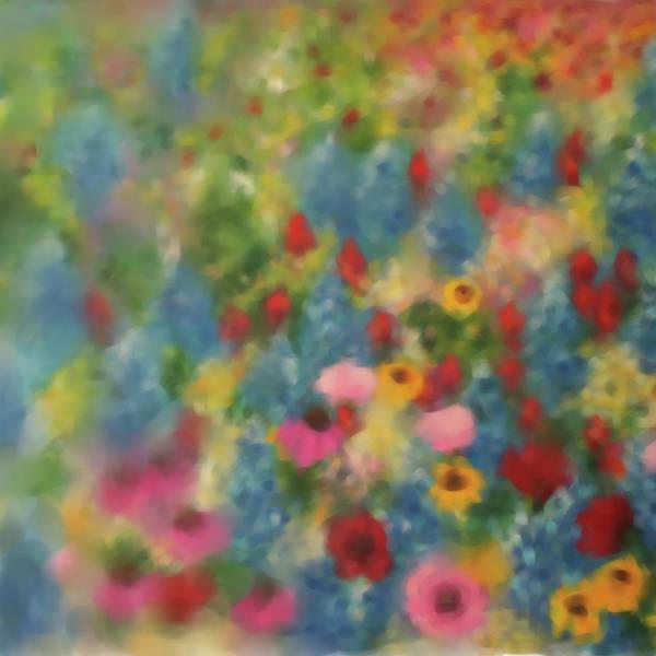 Wall Art - Painting - Painting 641 1 Texas Wildflowers 4 by Mawra Tahreem