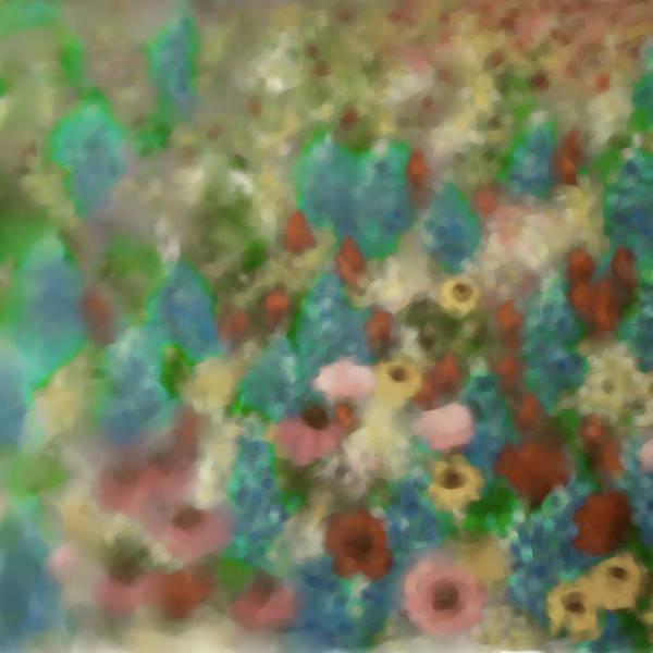 Wall Art - Painting - Painting 641 4 Texas Wildflowers 4 by Mawra Tahreem