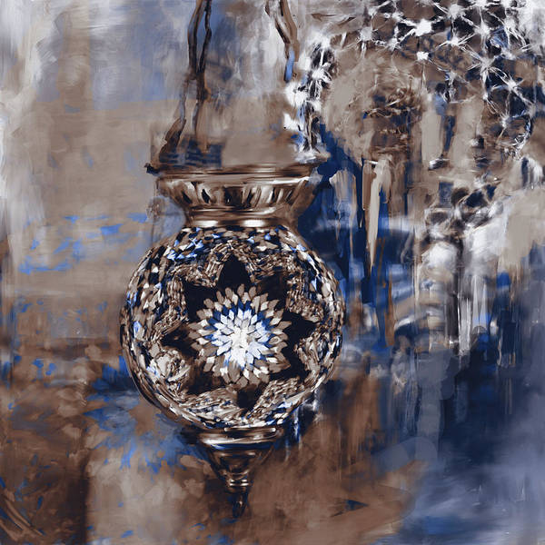 Culture Painting - Painting 759 4 Turkish Glass Mosaics by Mawra Tahreem