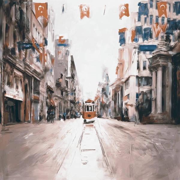Wall Art - Painting - Painting 761 2 Istiklal Street by Mawra Tahreem