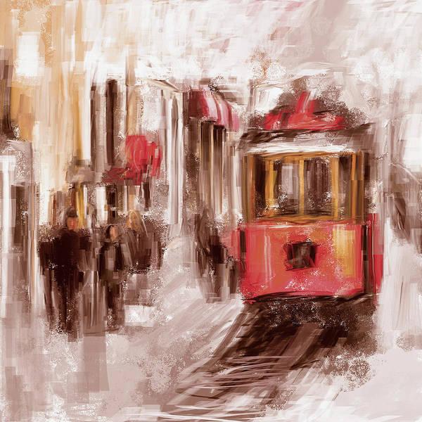 Wall Art - Painting - Painting 763 3 Istiklal Street by Mawra Tahreem