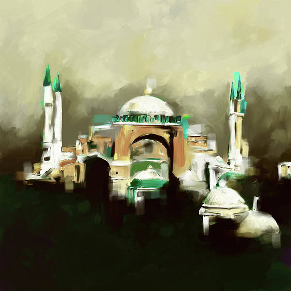 Wall Art - Painting - Painting 768 2 Hagia Sophia by Mawra Tahreem