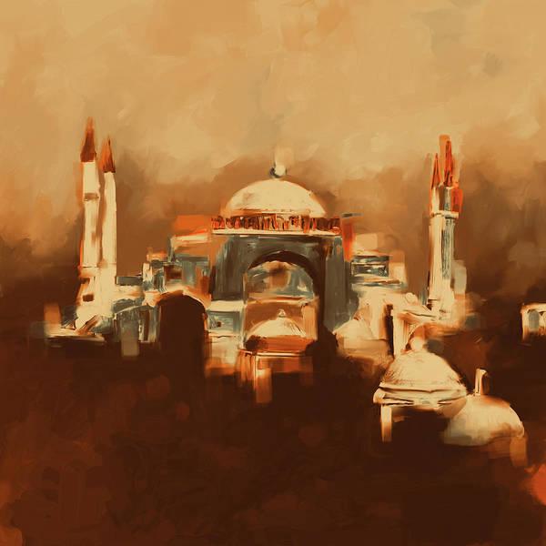Wall Art - Painting - Painting 768 4 Hagia Sophia by Mawra Tahreem