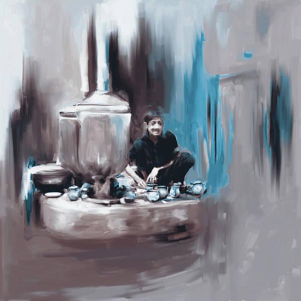 Culture Painting - Painting 788 4 Kpk Tea Culture by Mawra Tahreem