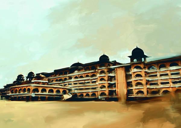 Wall Art - Painting - Painting 797 4 Peshawar University by Mawra Tahreem