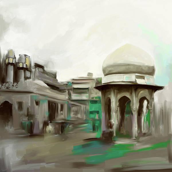 Wall Art - Painting - Painting 798 2 Chowk Yaadgar by Mawra Tahreem