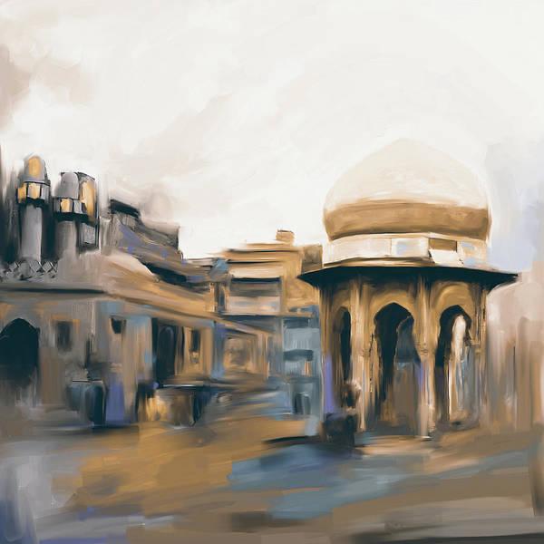 Wall Art - Painting - Painting 798 4 Chowk Yadgaar by Mawra Tahreem