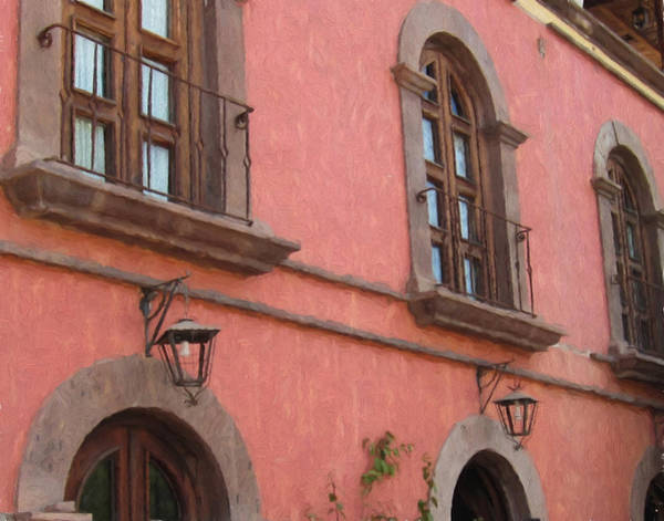 Photograph - Hotel In Loreto - Painting 2 by Marilyn Wilson