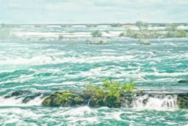Photograph - Painting Of Niagara Falls by Garvin Hunter
