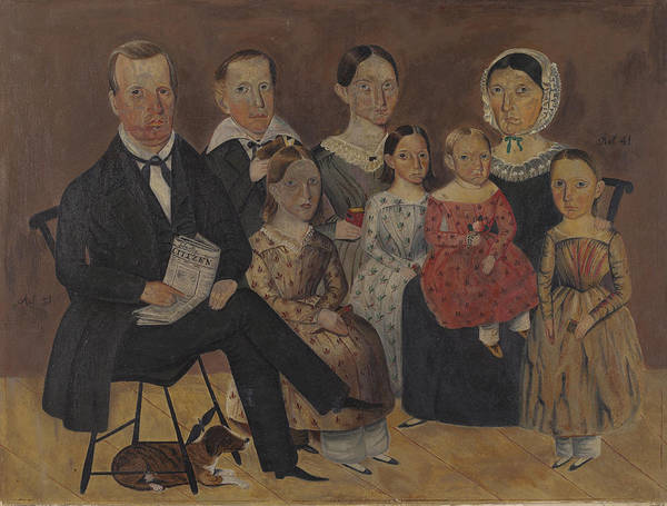 Wall Art - Painting - Painting Of Wagner Family by Archie Thompson