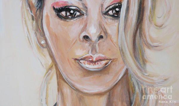 Painting - Painting Sandra  156/25/18 by Oksana Semenchenko