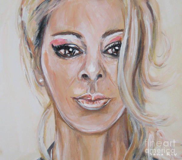 Painting - Painting Sandra 156/26/18 by Oksana Semenchenko