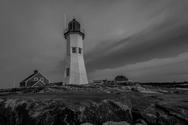 Photograph - Painting The Light  In Black And White by Brian MacLean