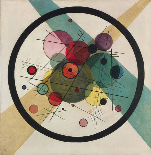 Wall Art - Painting - Painting by Wassily Kandinsky