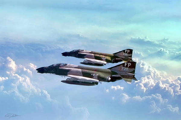 Mcdonnell Douglas Digital Art - Pair Of Wolves by Peter Chilelli