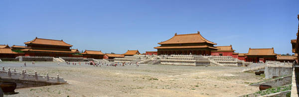 Forbidden City Photograph - Palace Area Of The Forbidden City by Panoramic Images