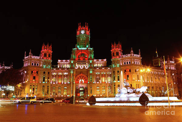 Photograph - Palace Of Communication Madrid Spain by James Brunker