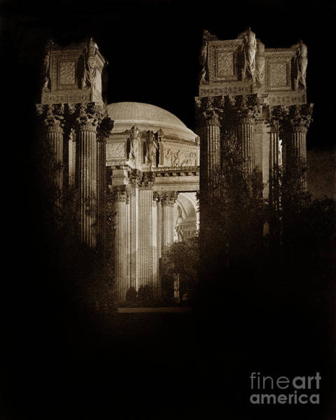 Photograph - Palace Of Fine Arts Panama-pacific Exposition, San Francisco 1915 by California Views Archives Mr Pat Hathaway Archives