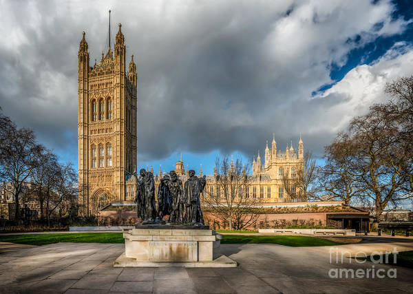 Parliament Photograph - Palace Of Westminster by Adrian Evans