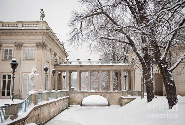 Wall Art - Photograph - Palace On The Water In Park by Arletta Cwalina