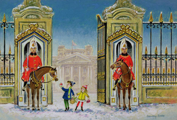 Reins Painting - Palace Presents by Stanley Cooke