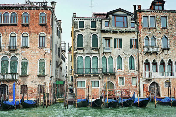 Photograph - Palaces By The Rialto, Venice by Jean Gill