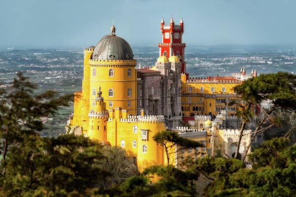 Photograph - Palacio Da Pena - The Sintra Mountains, Portugal by Nico Trinkhaus