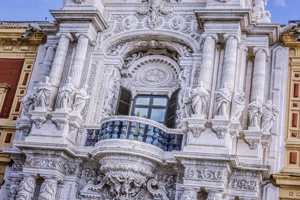 Photograph - Palacio De San Telmo Balcony by Joan Carroll