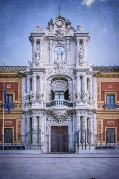 Photograph - Palacio De San Telmo Sevilla by Joan Carroll