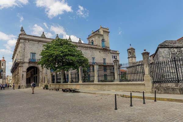 Fortification Photograph - Palacio Del Segundo Cabo From Plaza De Las Armas by Bridget Calip