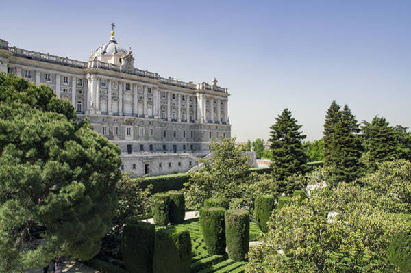 Photograph - Palacio Real De Madrid And Plaze De Oriente by Ross G Strachan