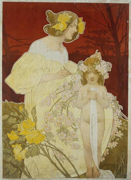 Painting - Palais De La Femme by Henri Privat-Livemont