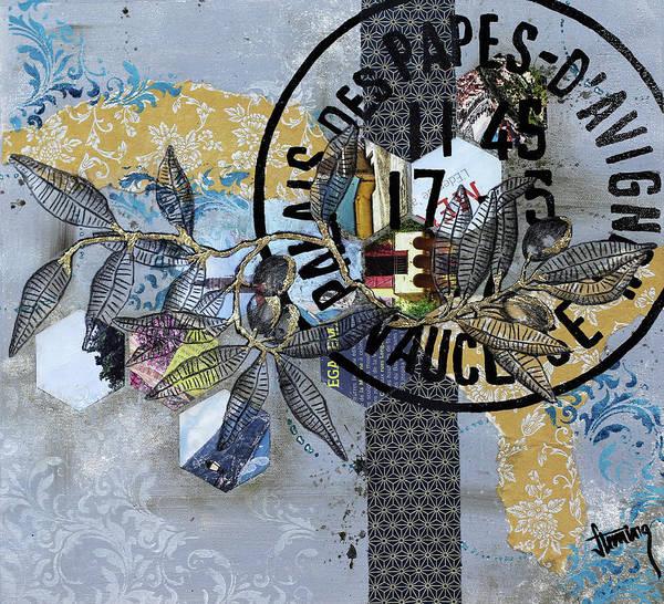Baroque Mixed Media - Palais Des Papes by Jennifer Fleming
