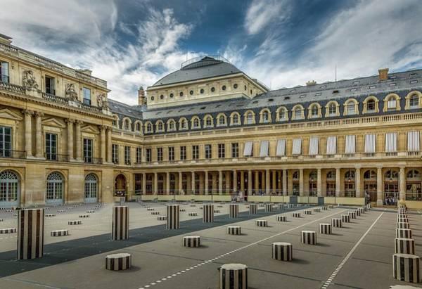 Wall Art - Photograph - Palais Royale Paris by Mike Houghton BlueMaxPhotography