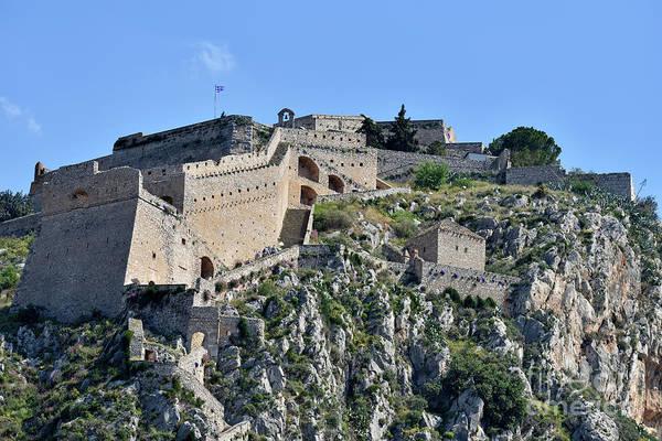 Peloponnese Painting - Palamidi Castle by George Atsametakis