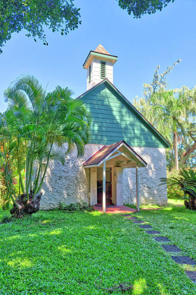 Photograph - Palapala Ho'omau Congregational Church by Jim Thompson