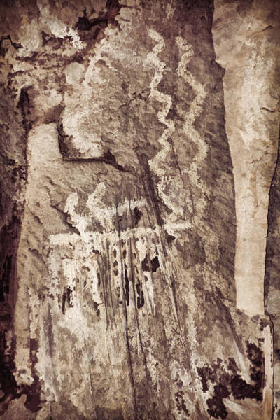 Photograph - Palatki Pictographs2 Des by Theo O'Connor