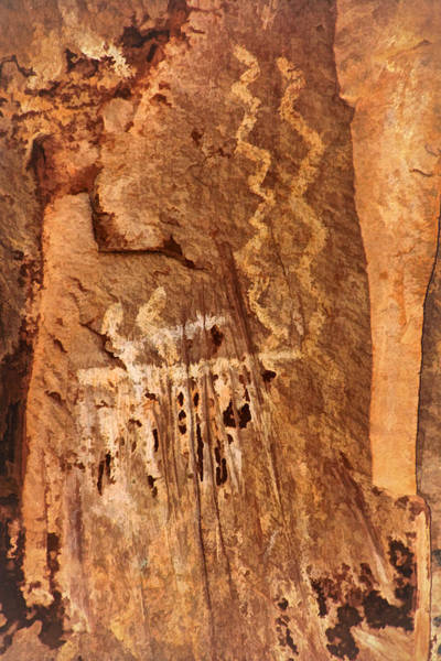 Photograph - Palatki Pictographs2 Pnt by Theo O'Connor