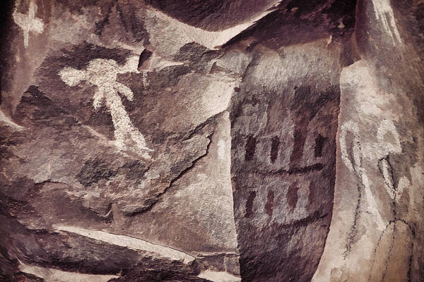 Photograph - Palatki Pictographs8 Des by Theo O'Connor