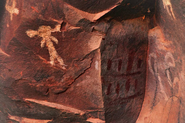 Photograph - Palatki Pictographs8 Pnt by Theo O'Connor