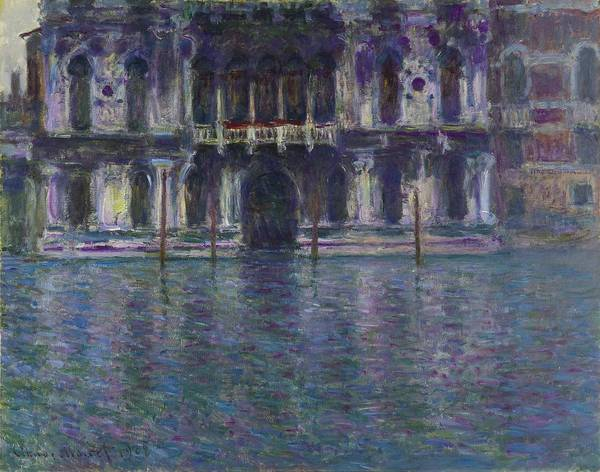 Painting - Palazzo Contarini by Claude Monet