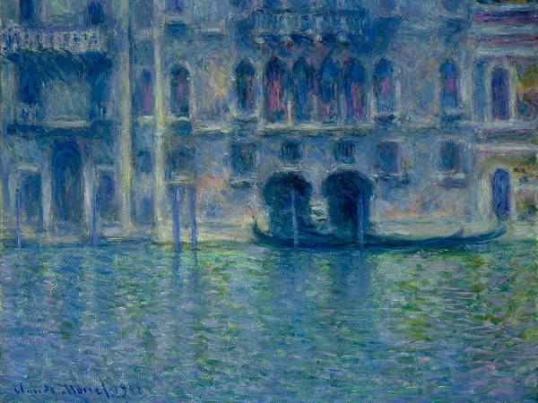 Painting - Palazzo Da Mula In Venice by Claude Monet