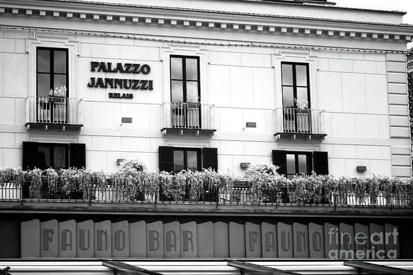 Wall Art - Photograph - Palazzo Jannuzzi by John Rizzuto