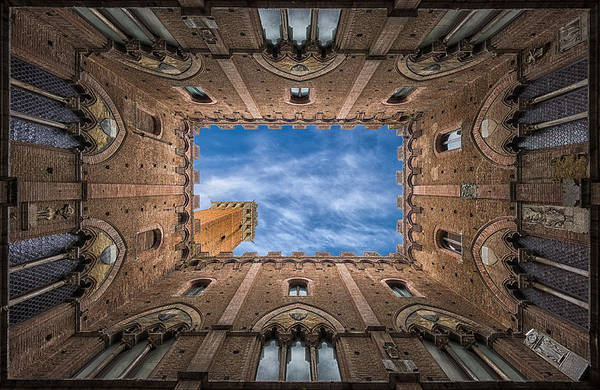 Wall Art - Photograph - Palazzo Pubblico - Siena - Nv by Frank Smout Images