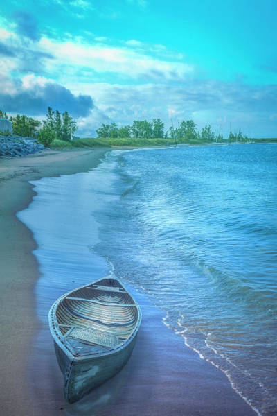 Photograph - Pale Morning Blues At Lakeside by Debra and Dave Vanderlaan