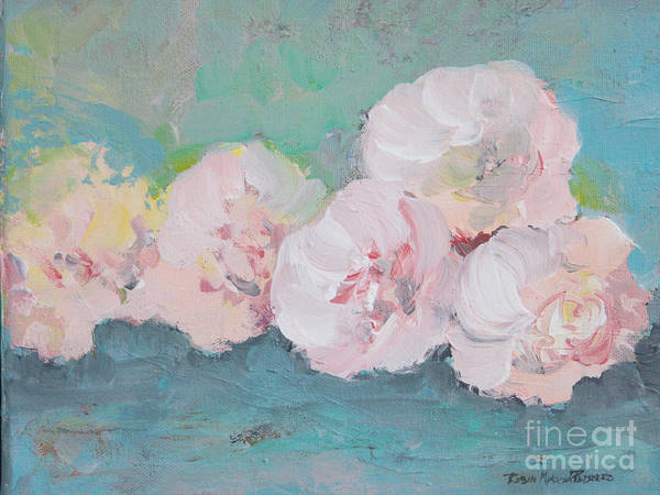 Painting - Pale Pink Peonies by Robin Maria Pedrero