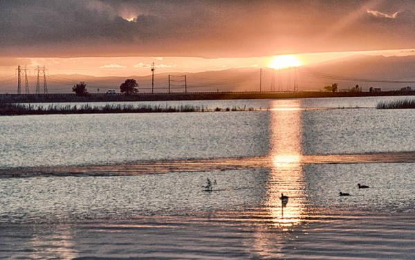 Photograph - Pale Sunset by AJ Schibig